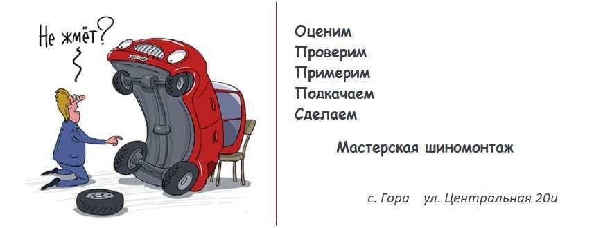 Шиномонтаж Гора, с. Гора вул. Центральна 20і, Бориспіль