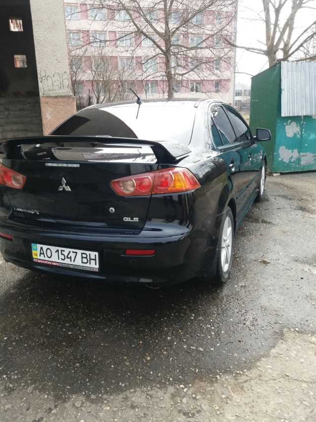 Продаж авто Mitsubishi Lancer 2007 р. Бензин  ціна $ 7700 у м. Ужгород