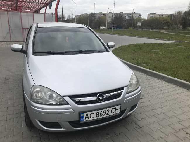 Продаж авто Opel Corsa 2005 р. Дизель  ціна $ 3900 у м. Луцьк