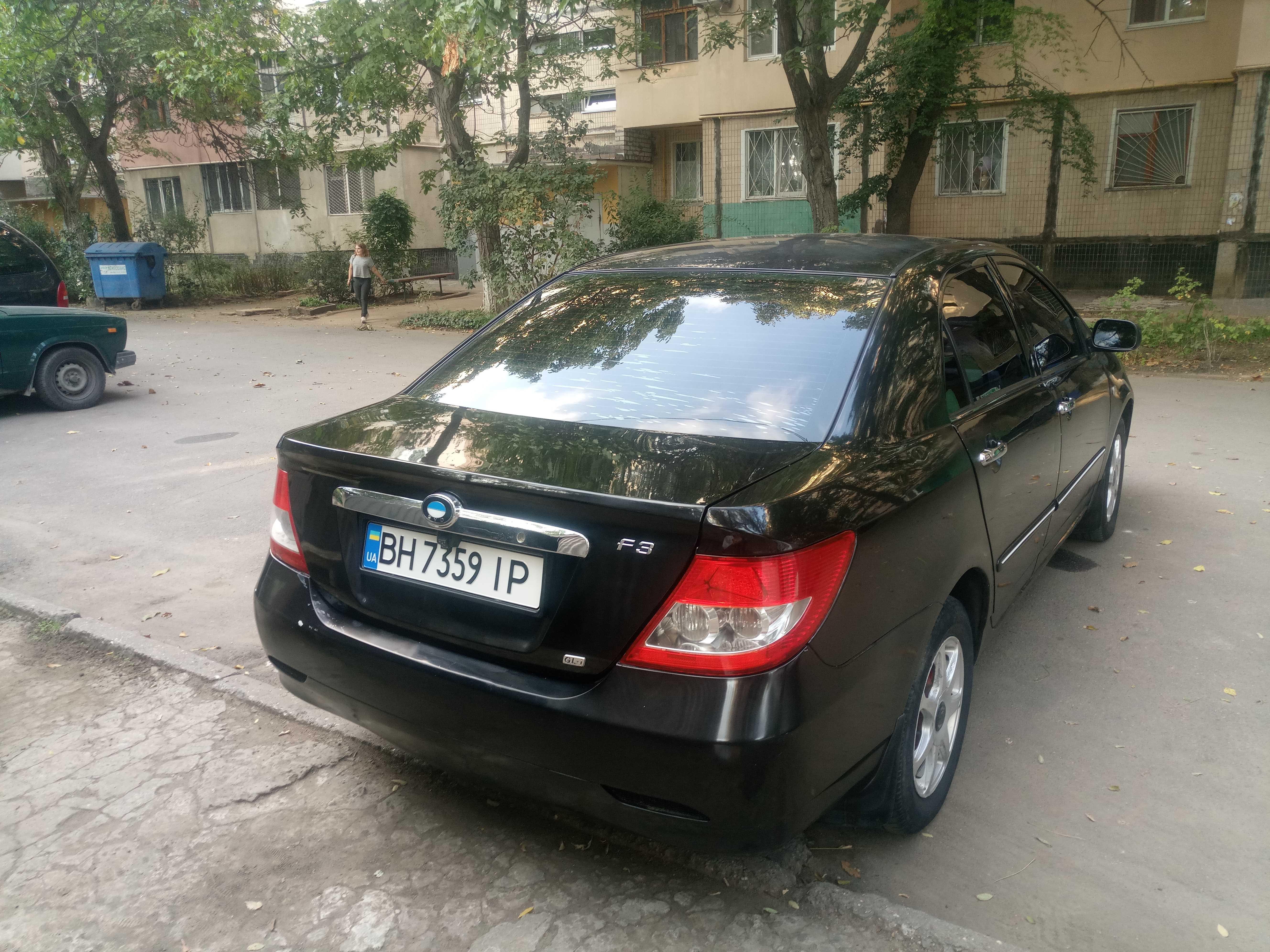 Продаж авто BYD F3 2007 р. Газ/Бензин  ціна $ 350 у м. Одеса