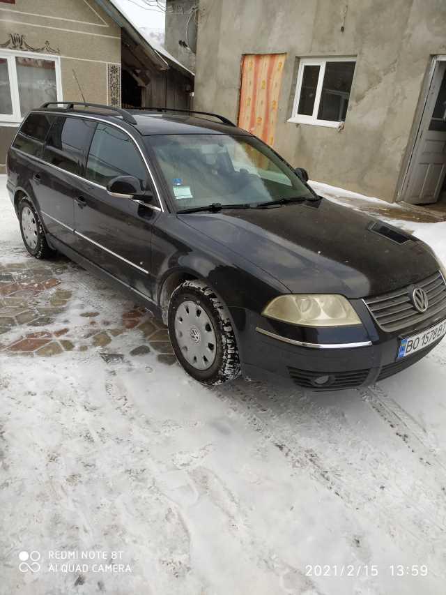 Продаж авто Volkswagen Passat 2003 р. Дизель  ціна $ 5500 у м. Борщів