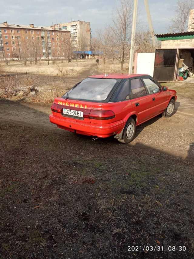 Продаж авто Toyota Corolla 1988 р. Бензин  ціна $ 1560 у м. Костянтинівка