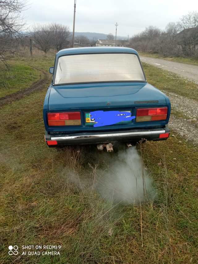 Продаж авто ВАЗ Lada 2107 2004 р. Газ/Бензин  ціна $ 1400 у м. Кам'янець-Подільський